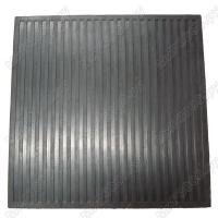 Ковер резиновый формовый 600х600х6 мм ГОСТ 4997-75