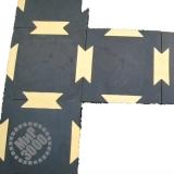 Резиплит Комби резиновое плиточное покрытие