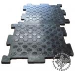 Унидор резиновая полимерно-волокнистая плитка